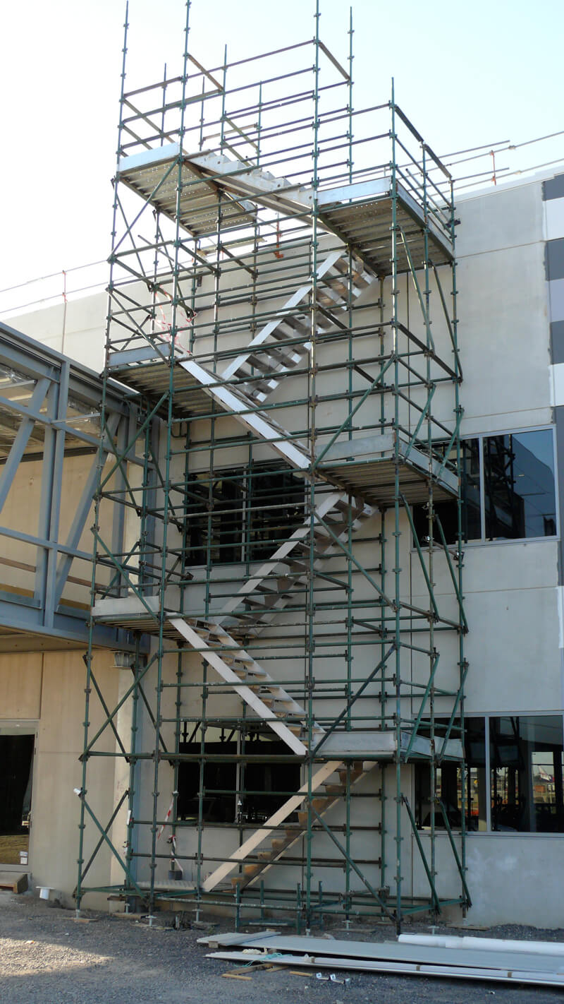 Scaffolding stairs stair access towers easy reach for Stair tower