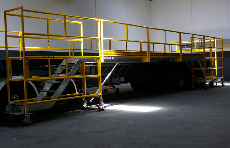 Truckdeck - Truck Fall Protection and Truck Screens - Easy Reach Scaffolding Melbourne