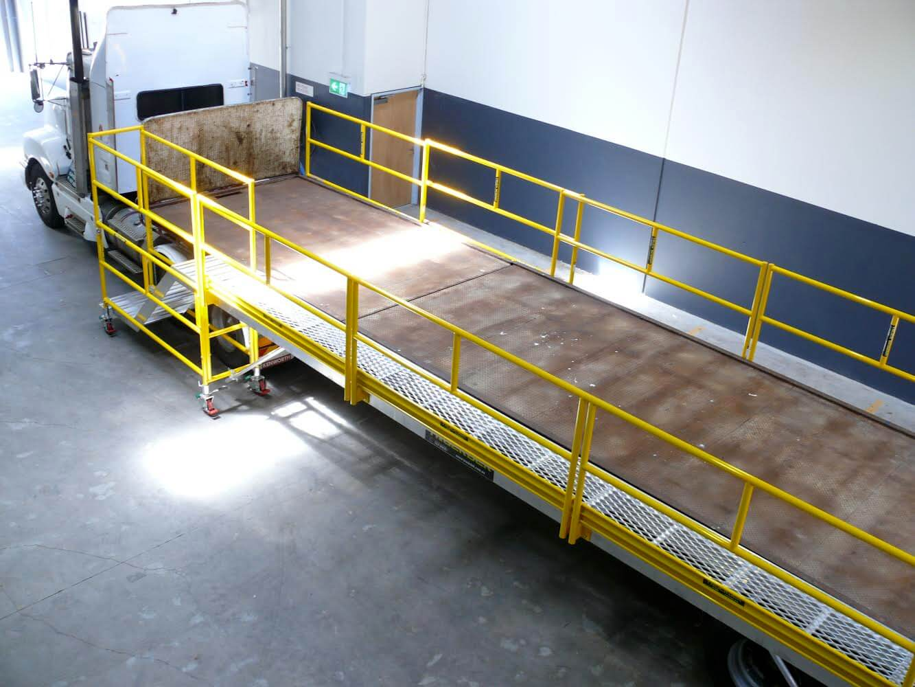 Truck Sales Melbourne >> Truck Fall Protection, Truck Loading Platform, Truck Screens